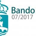 Bando 7/2017 - Contratación de 3 traballadores para limpeza de vías públicas e desbroce de camiños municipais