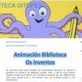 Todas as actividades do colexio de Astariz na web da súa biblioteca