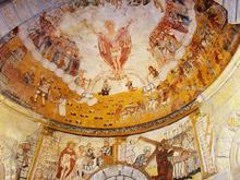 Pinturas murais da Igrexa de Santa María