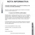 NOTA INFORMATIVA: Actualizaciòn datos COVID.